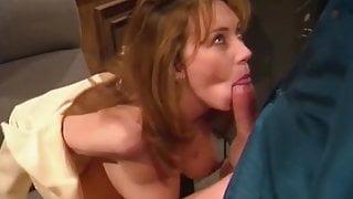 Hot Babe Blowjob Handjob And Cumshot