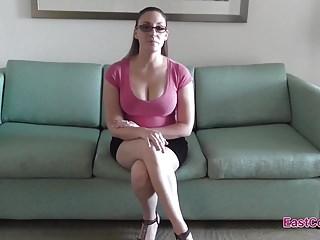 Job milf Melanie hicks - job interview creampie