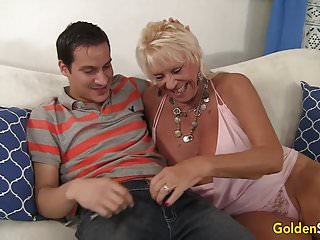 Busty seduces boy Granny mandy mcgraw seduces boy