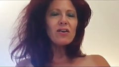 Gorgeous Redhead Mature Chick Homemade Sex