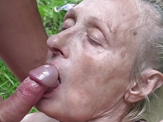 Young nudist couples - Granny seduced by young nudist
