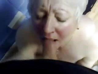 Nasty granny porn vids - Cumming in mouth of nasty granny. amateur older