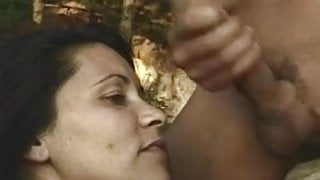 Brunette MILF In Distress Anal Rescue Fucked Outdoors