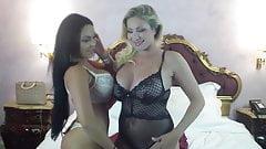 Vittoria Risi And Anastasia Dolls