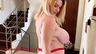 Fantastic Kitty Cute has such huge and heavy tits