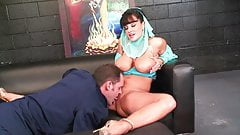 Amateur Belly Dancer wife fucked hard by a big dick pilot