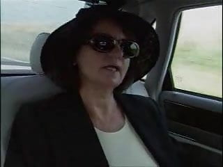 Cum hitchhiker 58 year old lady fucks her chauffeur and a hitchhiker