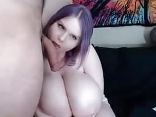 Natuarlly make boobs grow - Bbw with a huge white boobs suck an roomate and make him cum