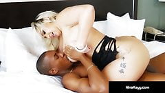 Round Rump Latina Nina Kayy Gets A Big Black Cock Inside Her