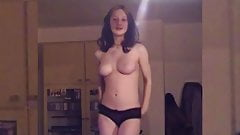 Bianca, Young and Busty Striptease 2