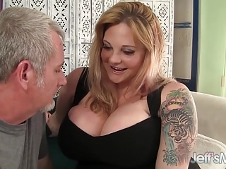 Kalie great fuck Sexy big boobed blond bbw kali kala lina fucked