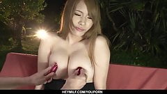 Busty Nami Itoshino in scenes of JAV sex - More at Japanesem