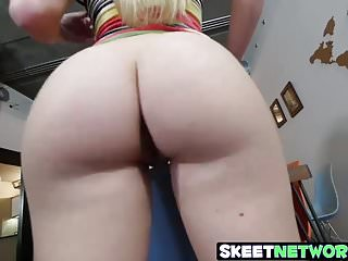 Latin cock movies Hot curvy blonde blows a fat latin cock at home for cash