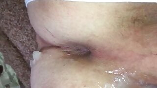 Yaoi sissy moans from huge cock and cum