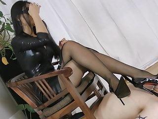 Smoking lingerie fetish Smoking hot asian mistress