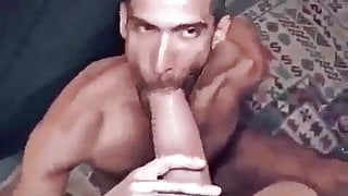 Sucking and Fucking by a big cock