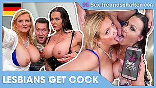 Young cock fucks THIS LESBIAN!  SEX-FREUNDSCHAFTEN