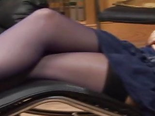 Tammi sex - British slut tammie lee recieves anal in stockings