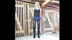 Sissy Slave held captive, Crossdresser Bondage