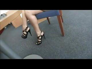 Foot fetish cumshots - Simone - foot fetish