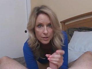 Kinky mature teaches me sex in POV