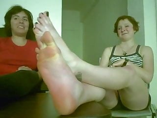 Lick girl foot bottom smelly dirt 2 girls with 4 sweaty and smelly feet