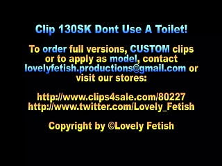 Amateur pissing clips Clip 130sk dont use a toilet - 05:20min, sale: 8