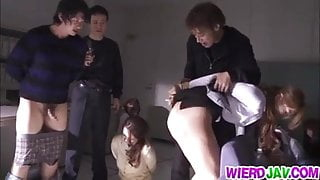 Japanese in dirty hardcore action