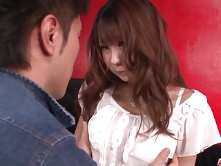 Releasing more sperm during ejaculation Natsuki shino stands for sperm - more at japanesemamas.com