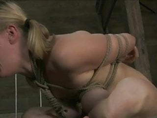 Blonde bdsm tgp Cute blond roughly fucked