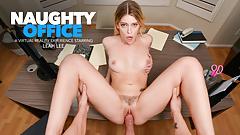Naughty America - Leah Lee needs a good spank