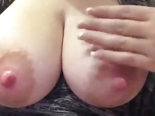Milk big tits - Big tits mom squirts milk
