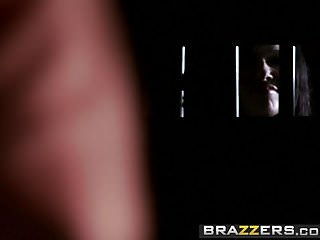 Lesbians squirting on prisoner girl - Brazzers - shes gonna squirt - prison pussy scene starring a