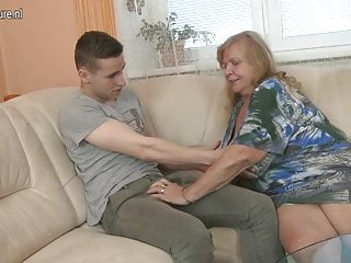 Old busty matures - Old busty grandma fucked by young boy