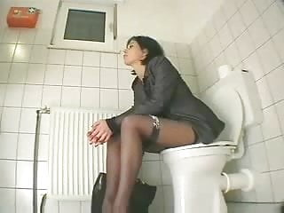 My cousin keeps grabbing my breasts - My cousin visiting us masturbates in toilet. hidden cam