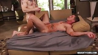 Gay Sex : Sebastian Young &  Sergeant Miles (Flip Fuck)