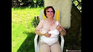 OmaGeiL – Crazy Granny Ladies Go Naked Compilation