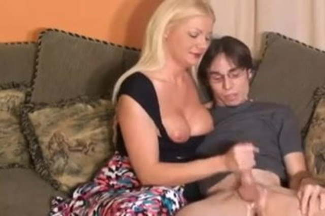 Mature Milf Seduces Boy