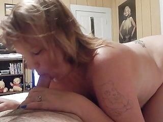 Sucking some dick Milf wife sucking some dick