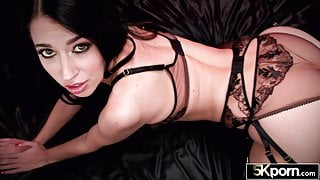 5KPorn - Alex Coal In Stockings Gets Creampied at 60fps