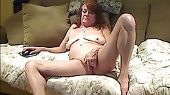 Raunchy Mature Pussy Play