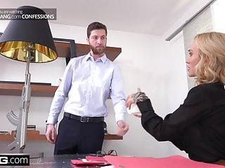 Sarah ward blow job - Boss babe sarah jessie fucks her assistant on the job