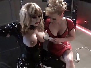 Breast feeding and c section births - Madame c uses her wand on bellas breasts and cock