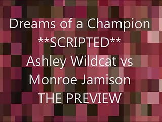 Dream of ashley hardcore Dreams of a champion ashley vs monroe scripted wrestling