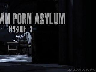 Hentai 3 d porn Harley quinn batman porn asylum - episode 3