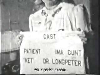Vintage 1940s fruit package design - Dr. longpeter heals by fucking 1940s vintage