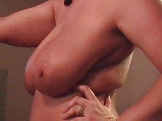 Natrual hairy pussie Ex-wife shaking belly huge natrual saggy tits cellulite pt 8