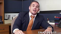 Hot interracial steamy sex between two big dick hunks