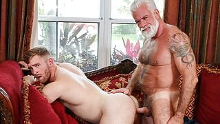 Step Dad Jake Marshall Reconnects With His Step Son And Fuck