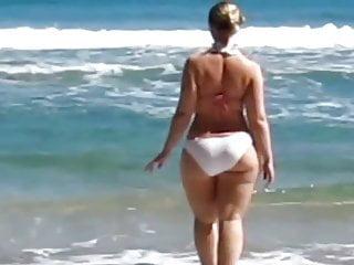 Wet white bikini glasses - White bikini.
